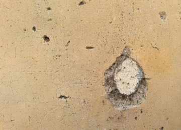 Stucco Repair Las Vegas - Hole